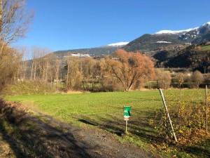 Rechts hinten neuer großer Erdhaufen, wo einst Auwald stand