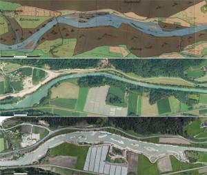 Seit Jahrhunderten säumte der Auwald der Ilstener Au die Rienz, heute nicht mehr (Foto: Agentur für Bevölkerungsschutz)