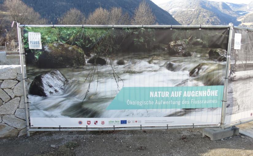 Renaturierung und Wasserrahmenrichtlinie Mittleres Eisacktal