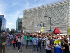 Klimaprotest und Klimastreik am 20.09.2019 in Brüssel