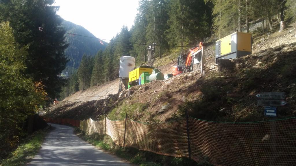 Ulten St. Gertraud- Verbauter Wald